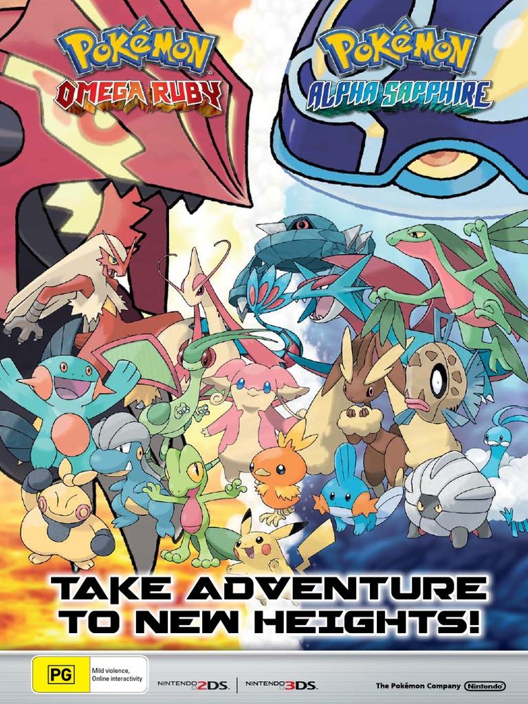 Pokemon Alpha Sapphire Guide Pdf