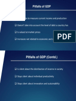 Pitfalls of GDP