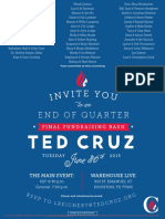 Fundraising Bash for Ted Cruz