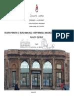 Progetto Esecutivo Teatro San Marco
