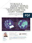 To Build a Sustainable World, Academics Need to Tear Down the Ivory Tower _ Ensia