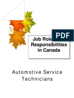 Automotive Service Technicians