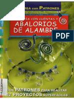 Abalorios de Alambre - Con 42 Proyectos