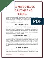 COMO MURIO JESUS LAS ÚLTIMAS 48 HORAS.docx