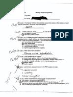 Microbiology Practice Exam 3 2003
