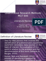 Chapter 3 Literature Review