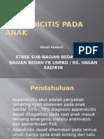 APPENDICITIS PADA ANAK anshor.pptx