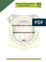 RELATORIO IGP 2015