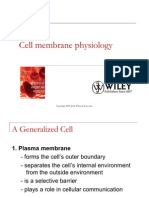 PHTH 211 Cell Membrane Physiology