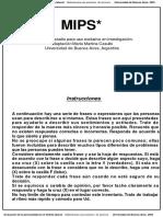 MIPS Cuadernillo de Preguntas y Respuestas