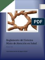 Reglamento Del Sistema Mixto de Atención en Salud 2014