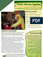 Newsletter 2010 April