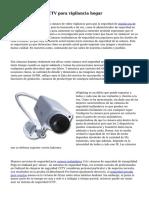 IP o c?maras de CCTV para vigilancia hogar