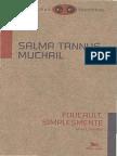 Foucault, Simplesmente - Salma Tannus Muchail-www.livrosGratis.net