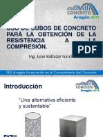 Uso de Cubos de Concreto Para Aci Estudiantil Enep-Aragón Mar-15