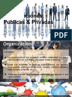 ORGANIZACIÓN PUBLICA Y PRIVADA