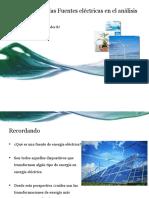 Clasificación de Las Fuentes Eléctricas en El Análisis