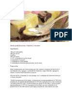 Receta Pastel de Naranja-Torta Animal Prints