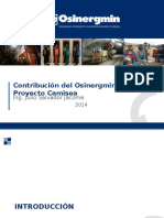 Contribución Del Osinergmin Al Proyecto Camisea