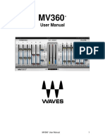 MV360 Waves Plugin