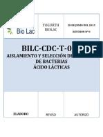 Determnacion de Lactobacillus