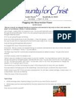 Mini Newsletter 138