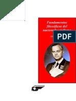 Fundamentos Filosc3b3ficos Del Nacionalsocialismo