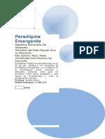 """Paper"" de Paradigma Emergente"