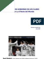 Futbol Gobierno Corporativo Peru
