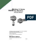 Ultima X Series Instruction Manual - En