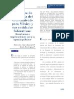 Indice Economico Conocimiento Mex Entidades Federativas