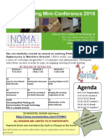 noma mini-conference sudbury april 2016