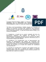 Acuerdo Institucional Casa Del Pirata Amaro Pargo
