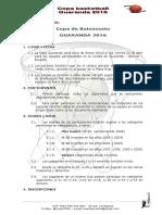 Reglamento Copa Guaranda