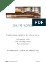 Etude & Conseil Edilivre-edifree - Document de Travail - 25032010