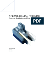 Ncr Ts215 Ts230 Cheque Scanner w622-100