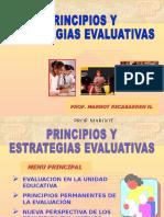Principios y Estrategias Evaluativas