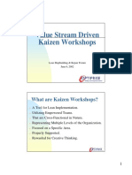 Value Stream Driven Kaizen Workshops