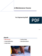 Plant Maintenance Basics Course
