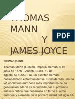 thomas mann y james joyce