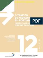 O Trafico de Migrantes em Portugal Perspectivas Sociológicas Juridicas e Politicas