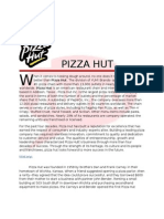 Final Report Pizzahut