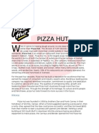 pest pizzahut Pizza hut is committed to providing uncompromising product quality but pizza hut targets a wide range of customers they also do vegetarian options with meet free pizzas and a salad and pasta bar.
