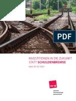 2009 Verdi-Broschuere Argumente gegen Schuldenbremse