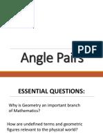 05 Angle Pairs