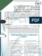 PRESENTACIÓN LICITACIÓN PARQUES Y JARDINES