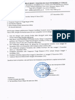 Pelaksanaan Program Serdos Tahap III Tahun 2015