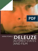 Anna Powell - Deleuze, Altered States and Film - Edinburgh University Press