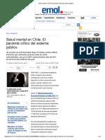 Salud Mental en Chile_ El Paciente Crítico Del Sistema Público