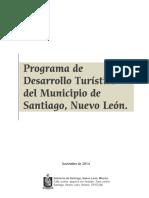 Programa de Desarrollo Turístico Municipal de Santiago, Nuevo León
